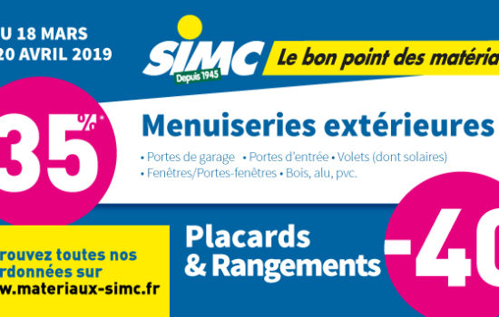 Promo Rénovation 2019