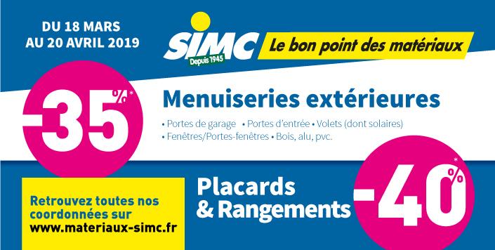 Promo printemps simc 2019