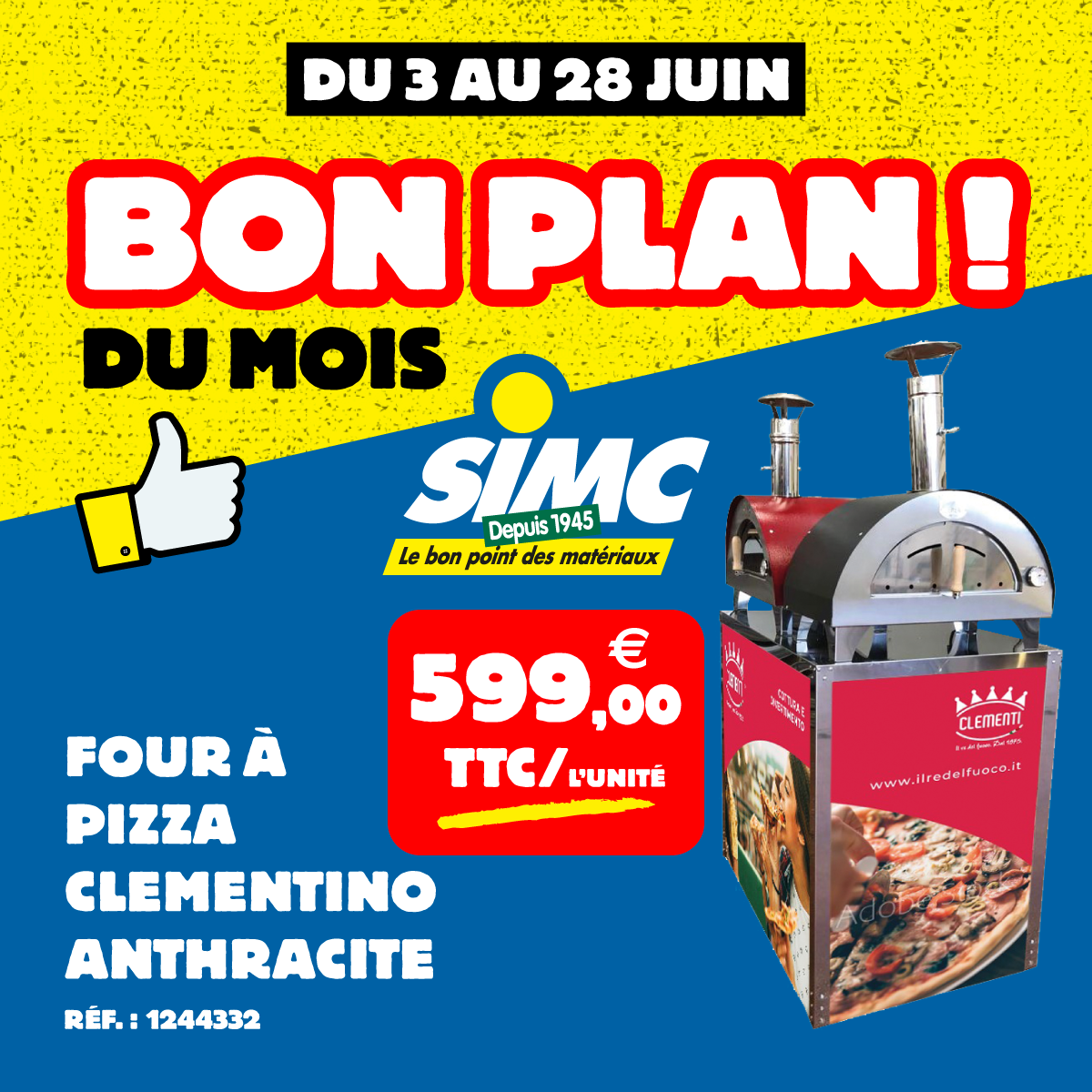 Four a pizza Clementino - simc