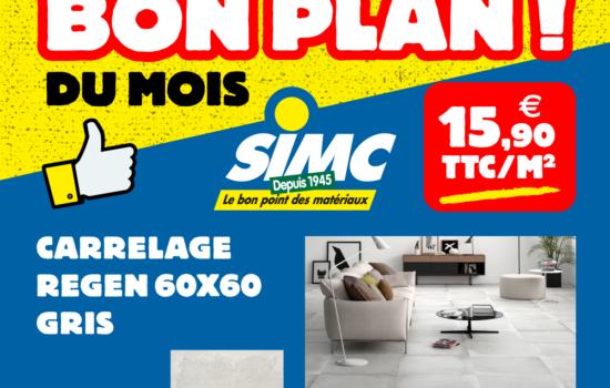 Bon Plan Carrelage CERAMICA – Juillet 2019