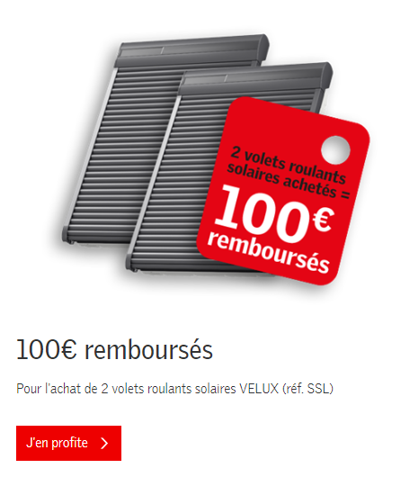 offre velux 2 volets