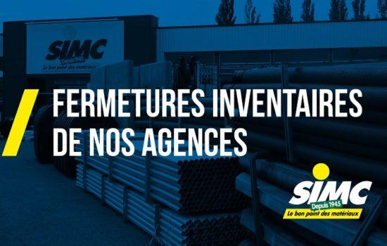 Inventaires & Fermetures Annuelles 2021