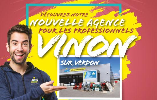 Nouvelle agence Vinon-sur-Verdon