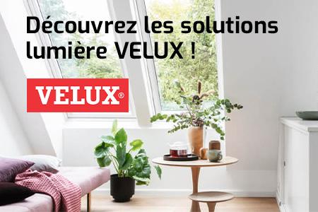 Faites entrer la lumière de façon originale avec les solutions Velux !